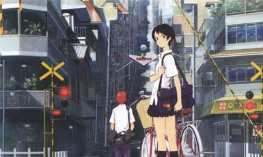 la chica que saltaba en el tiempo, top 10 película de anime