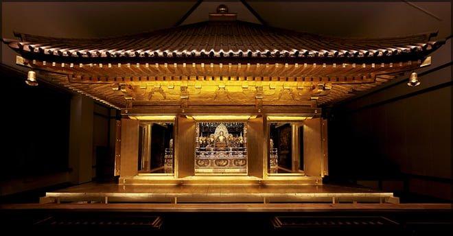 Pabellón dorado de Chuson-ji