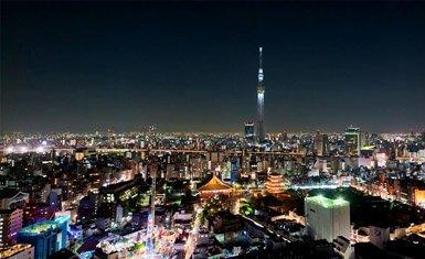 Tokyo Sky Tree de noche