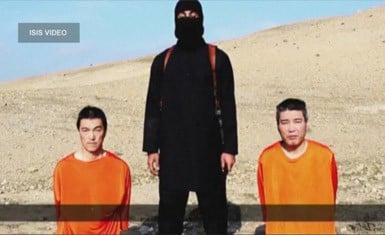 ISIS rehenes japoneses