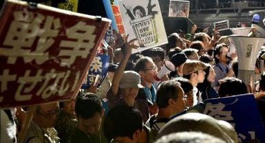 protestas contra la reforma al artículo 9