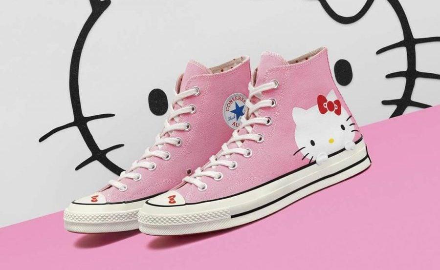 Hello Kitty Converse