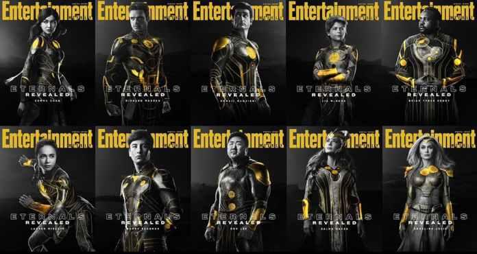 Estos son los protagonistas de la película Eternals de Marvel: reparto — Conocedores.com
