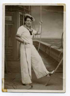 Año 1938. Francisca Rodríguez Laso. Foto de Delia Vega