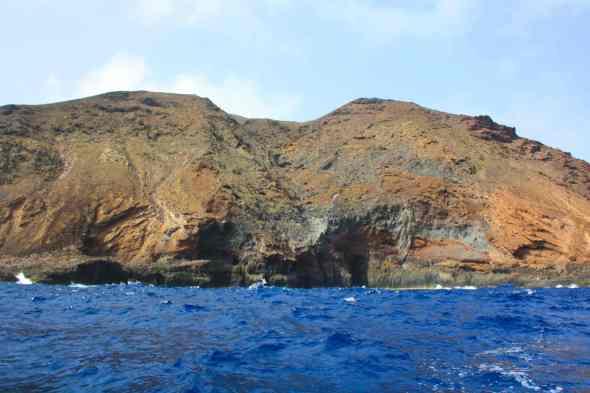 La Hondura o La Raja. Montaña del Faro