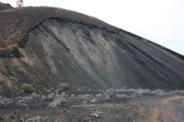 Cantera base del Volcán del Vigia