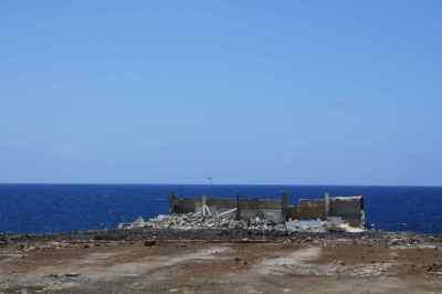 Restos de la nave más antigua, después de las demoliciones