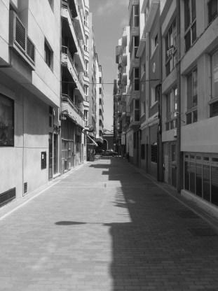 Calle Sancocho, en la actualidad Calle Hierro