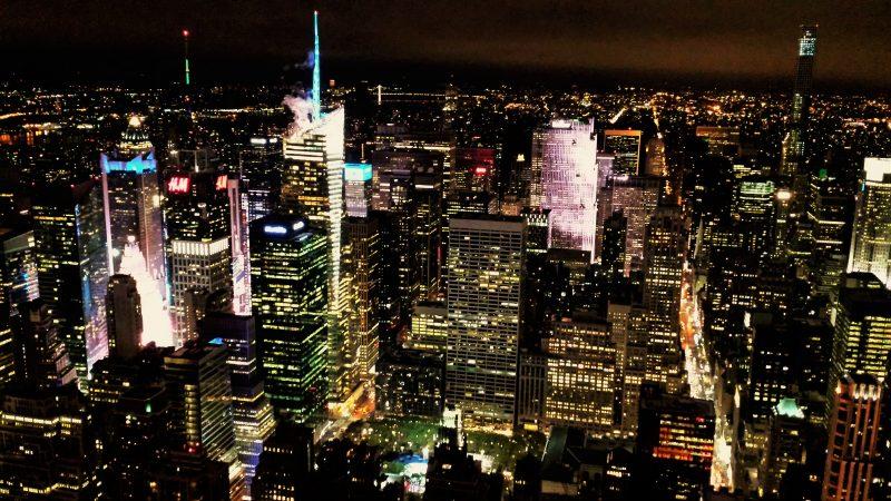 Vista Nocturna desde Empire State