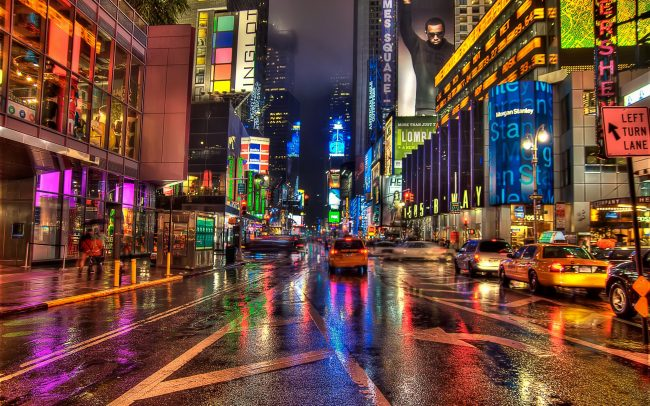 Times Square Foto Credit: Pinterest