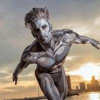 New York Silver Surfer, es el mejor disfraz del Halloween 2016