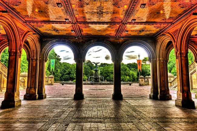 Bethesda Terrace via: Pinterest