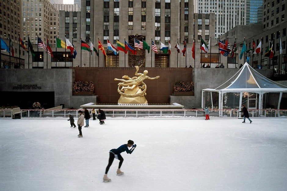 Regresa la temporada del patinaje sobre hielo al Rockefeller Center
