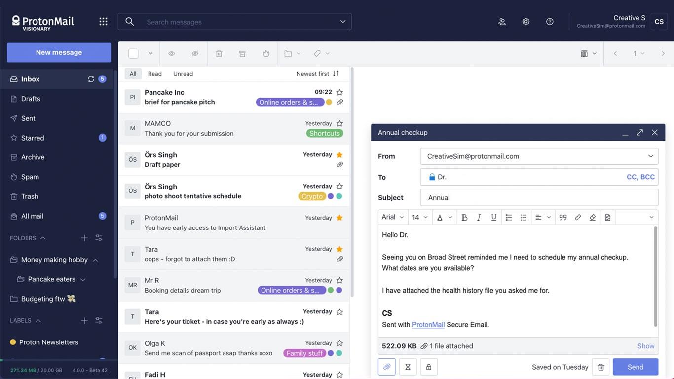 ProtonMail el correo que los expertos en seguridad recomiendan 1