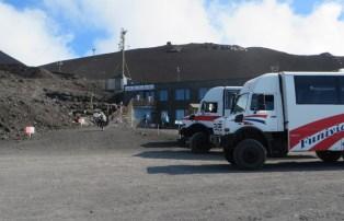 volcan etna - autobuses