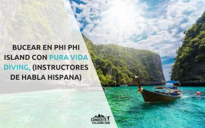 Bucear en Phi Phi Island con Pura Vida Diving (instructores de habla hispana)