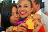 Habiba and her sister Sabrine