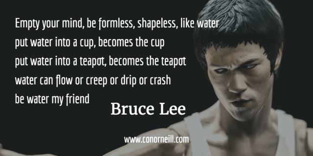 Be Water My Friend Bruce Lee Moving People To Action