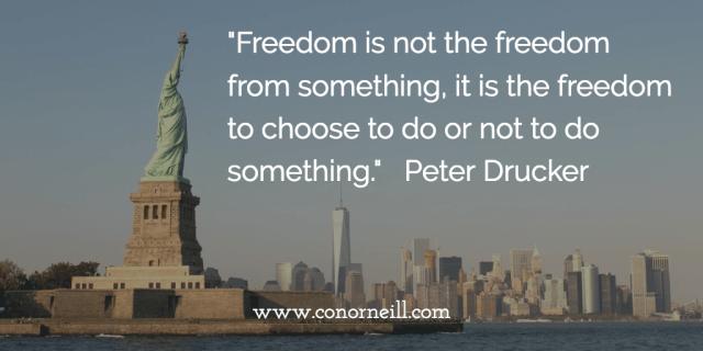 Freedom is not Fun