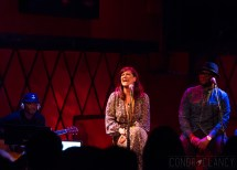 Shoshana Bean performs at Rockwood Music Hall Stage 2 in New York City. March 18, 2015. Photo © Conor Clancy.