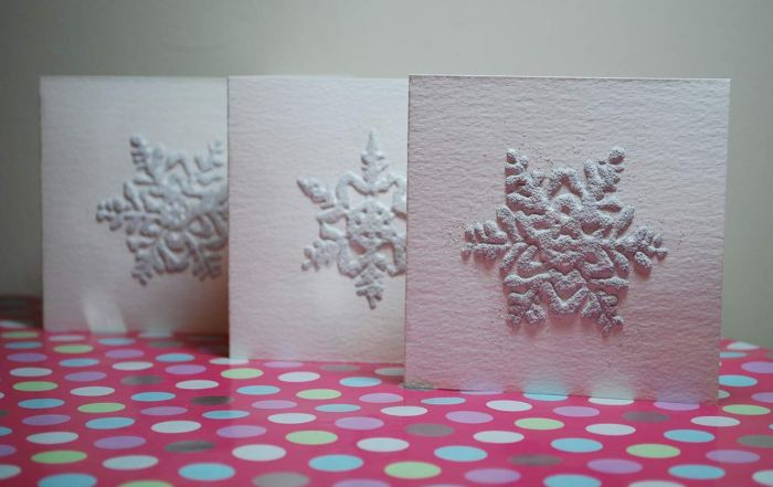 Christmas cards designed and made by Conor Wilson