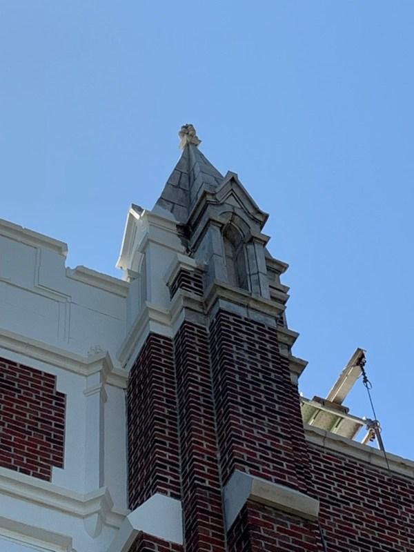 Dull building exterior