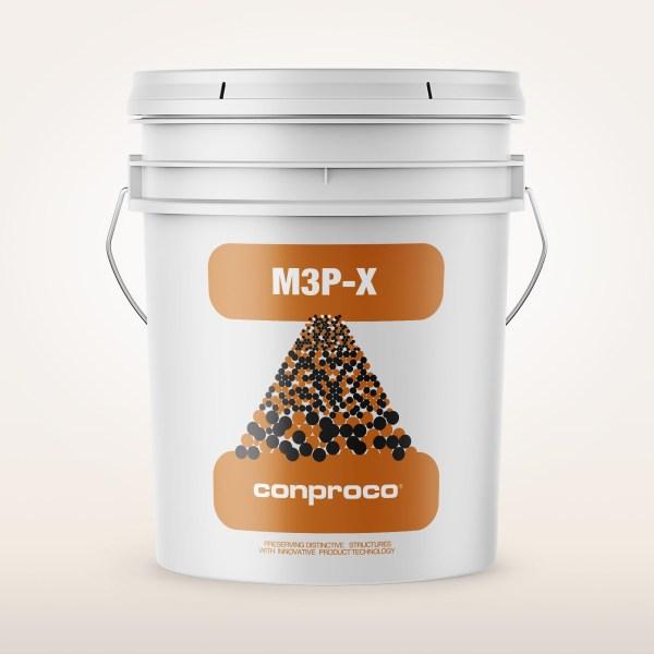 M3P-X 5 gallon pail provides a transparent finish for concrete
