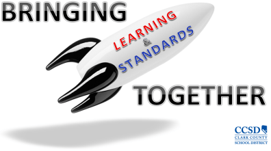 I created a logo used in the BLAST (Bringing Learning and Standards Together) initiative for the Common Core State Standards implementation in Clark County School District.