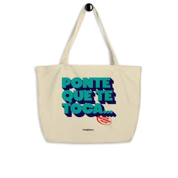 bolsa de playa Ponte que te toca