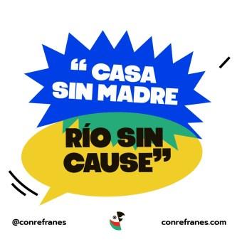 CASA SIN MADRE RÍO SIN CAUSE@72x-100