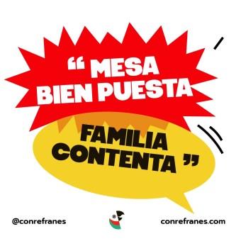 MESA BIEN PUESTA FAMILIA CONTENTA@72x-100