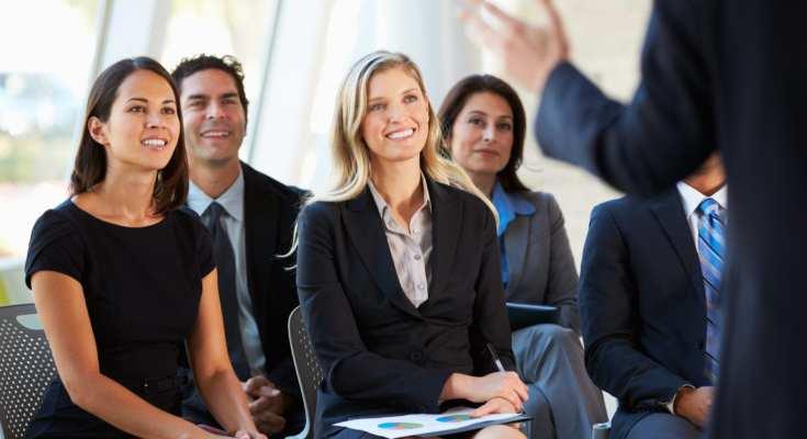 public speaking seminars can help people improve their presentations