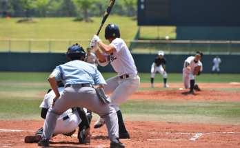 Baseball batter at the plate