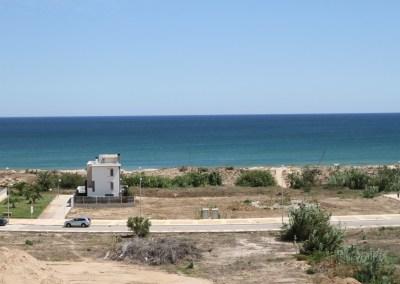 Vistas desde Residencial Migjorn en Playa de Oliva