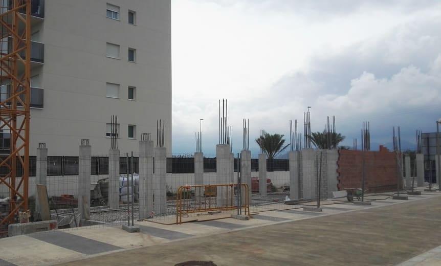 Inicio de obras en Residencial Tramuntana (Playa de Oliva)