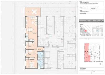 Apartamento 2-A 3 dor.