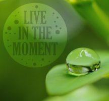 Vivre le moment présent cela offre l'avantage d'avancer dans les projets pas à pas