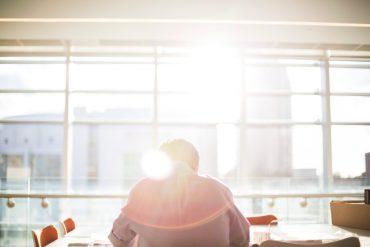 Man working as sun rises | work as sadhana | self growth | Conscious Content