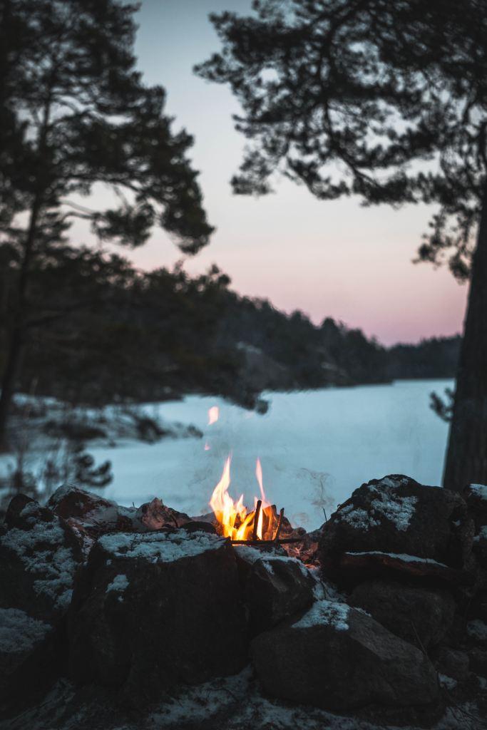 Layoff survivor's guilt | bonfire on island