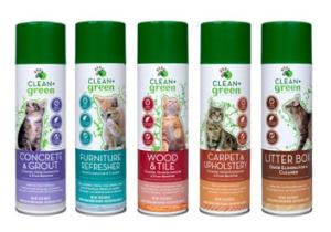 Clean+Green natural cleaning products