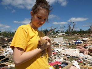 Alabama tornadoes animal rescue
