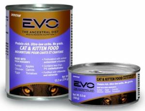 Innova EVO canned cat and kitten food