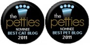 2011 Petties Best Cat Blog Best Overall Pet Blog