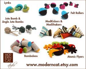 Moderncat Studio assorted toys
