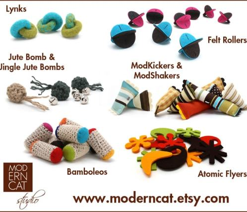 Moderncat Studio assorted toys