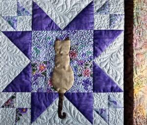 cat quilt square Siamese Cat Rescue
