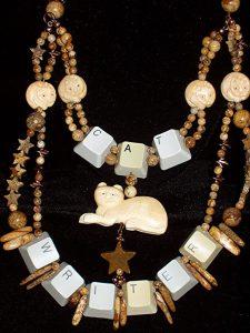 cat jewelry by Wendy Christensen
