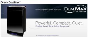 oreck dual max air purifier review