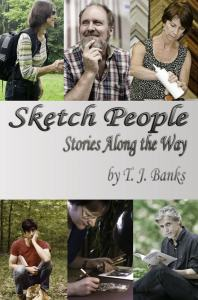 Sketch People T.J. Banks cover