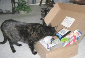 Allegra and Ruby with Pawalla box